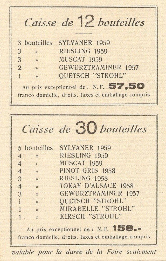 Distillerie et négoce en vins STROHL à Wangen - Page 2 Scan0912