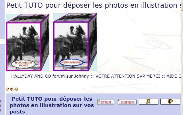 Petit TUTO pour déposer les photos en illustration sur vos posts Captur95