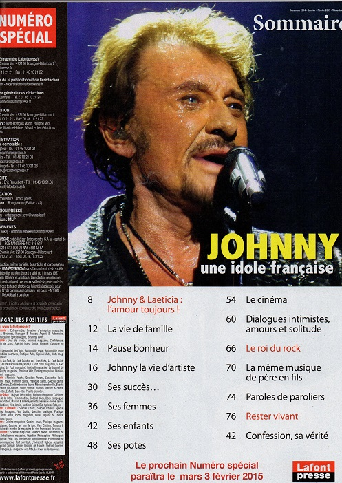 Numero special Johnny une idole française Img33810