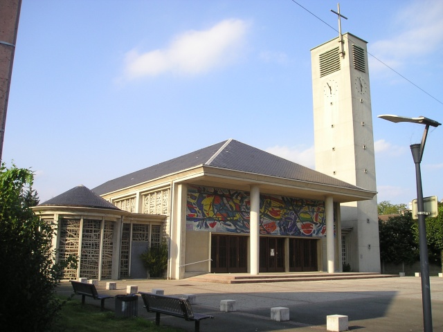 Église du Sacré-Cœur d'Audincourt -- L'église d'Assy. Audinc10