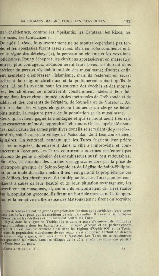 MULSUMANS MALGRÉ EUX - LES STAVRIOTES. Echosd12