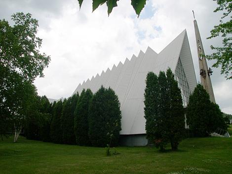 Église Saint-Marc, à Bagotville, La baie, Saguenay. Eglise10