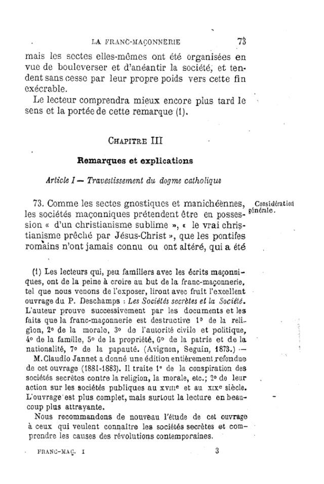 LE TRAVESTISSEMENT DU DOGME CATHOLIQUE - par D. P. Benoit - 1886. Pdf10