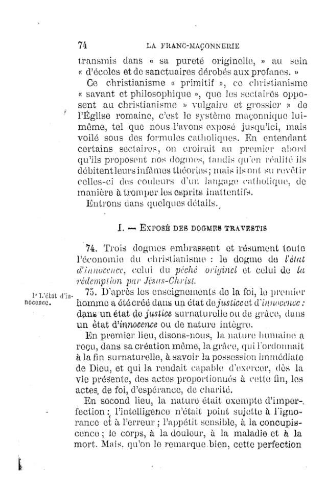 LE TRAVESTISSEMENT DU DOGME CATHOLIQUE - par D. P. Benoit - 1886. Pdf11