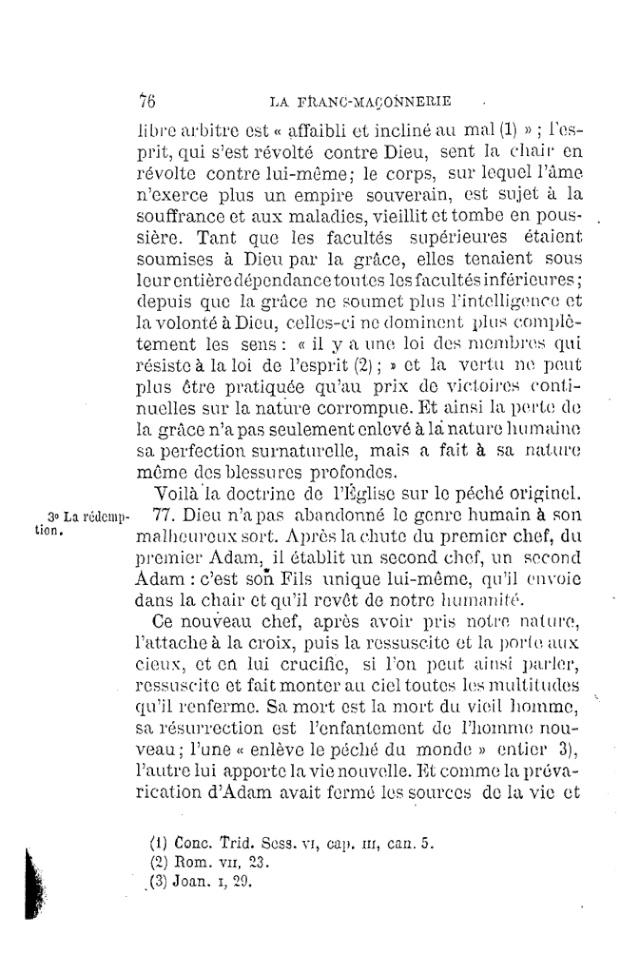 LE TRAVESTISSEMENT DU DOGME CATHOLIQUE - par D. P. Benoit - 1886. Pdf13