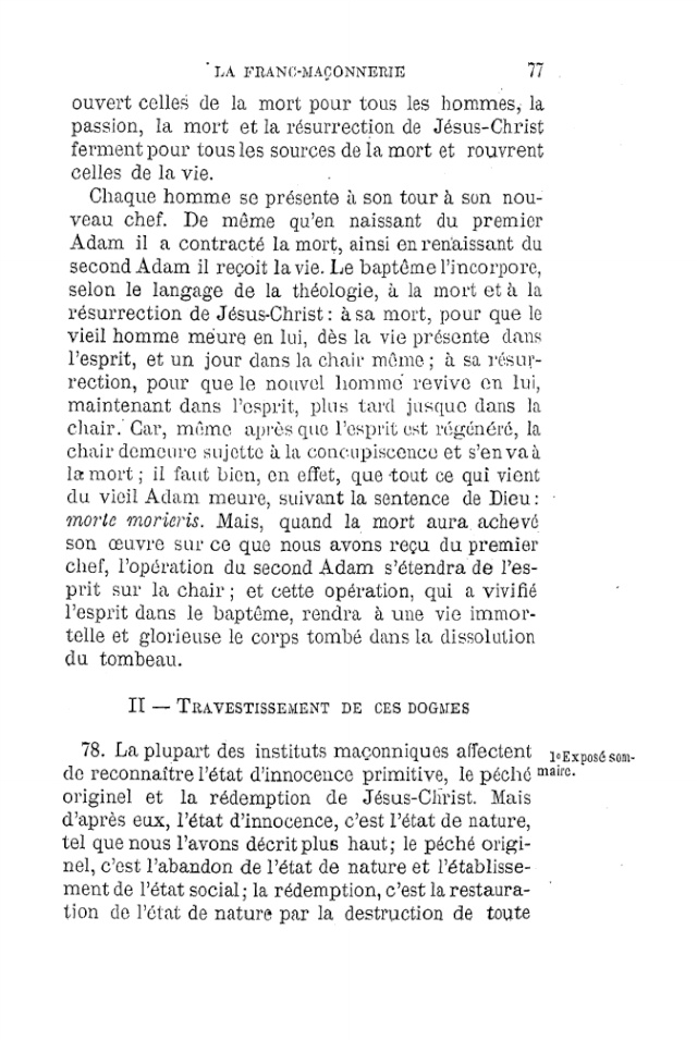 LE TRAVESTISSEMENT DU DOGME CATHOLIQUE - par D. P. Benoit - 1886. Pdf14
