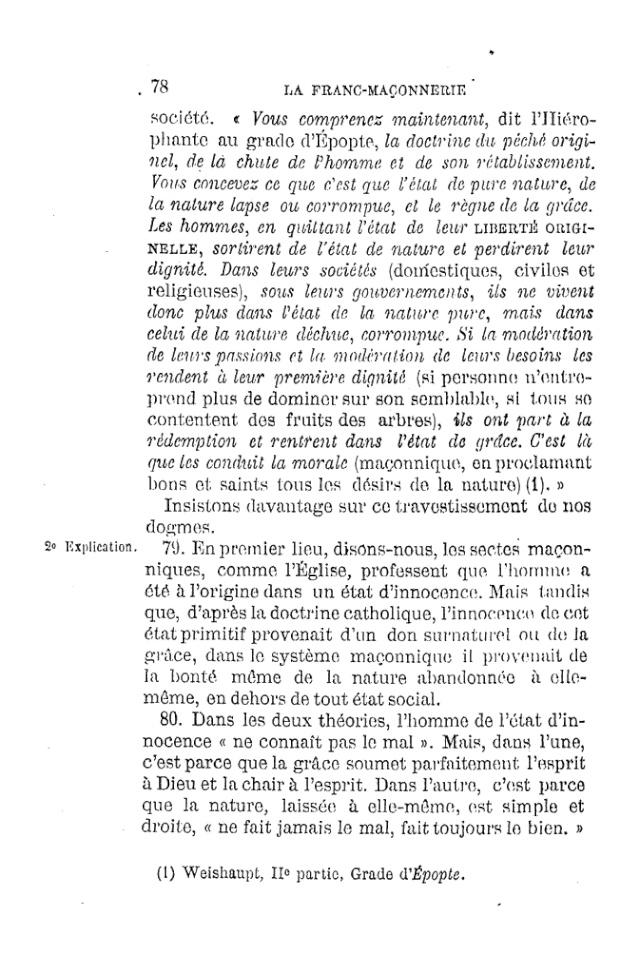 LE TRAVESTISSEMENT DU DOGME CATHOLIQUE - par D. P. Benoit - 1886. Pdf15