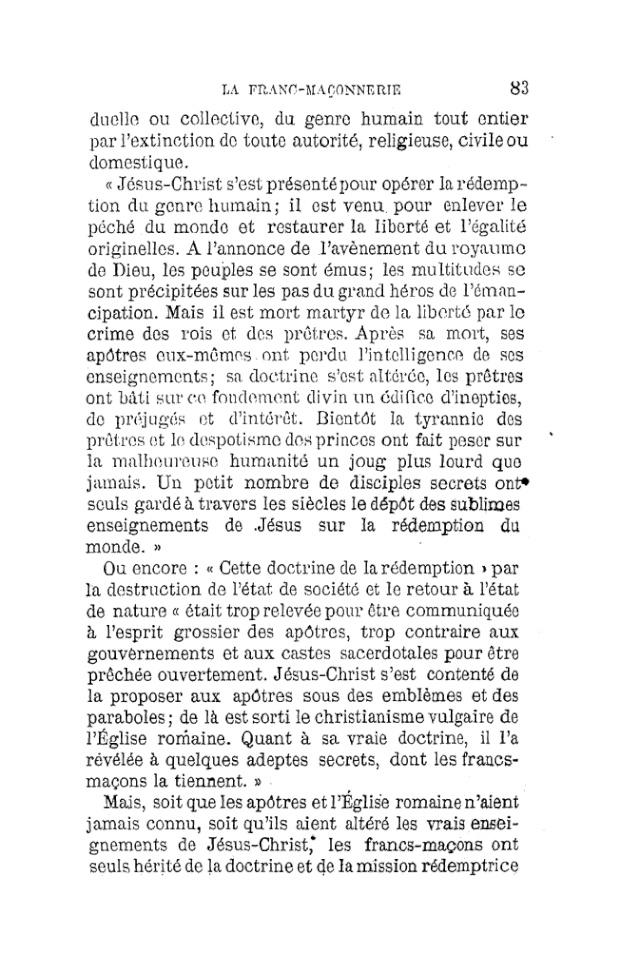 LE TRAVESTISSEMENT DU DOGME CATHOLIQUE - par D. P. Benoit - 1886. Pdf20