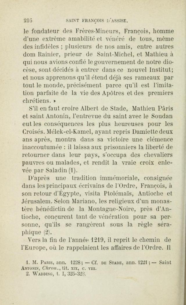 Saint FRANÇOIS D'ASSISE devant les mahométans pour les convertir. Saintf14