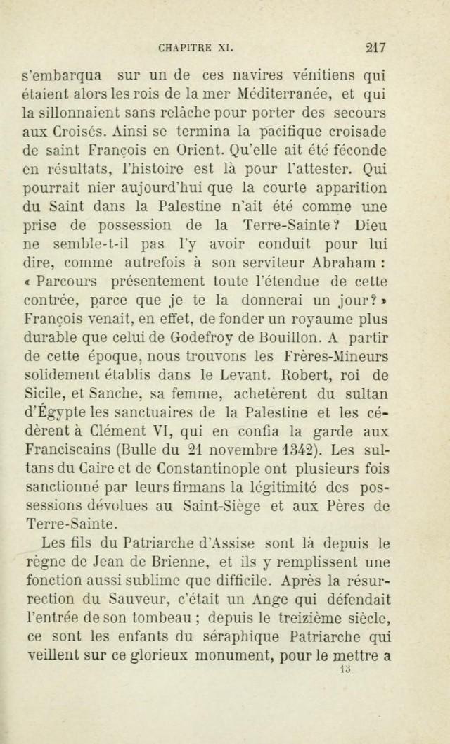 Saint FRANÇOIS D'ASSISE devant les mahométans pour les convertir. Saintf15