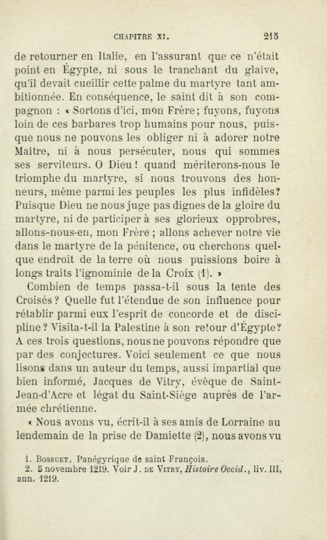 Saint FRANÇOIS D'ASSISE devant les mahométans pour les convertir. Saintf19