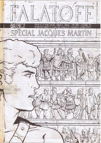 Interview, fanzines et articles divers sur Jacques Martin 01red11
