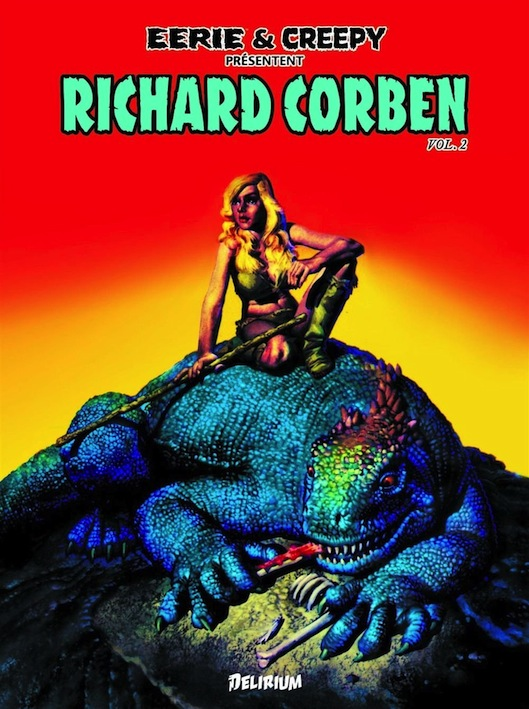 Richard Corben, génie de la couleur Eerie-10