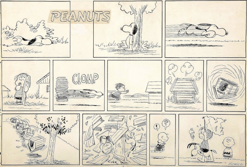 """La saga """"Peanuts"""" - Page 3 Schulz10"""