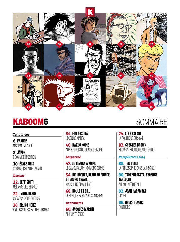 Kaboom, une nouvelle revue sur la BD - Page 2 Somkab10
