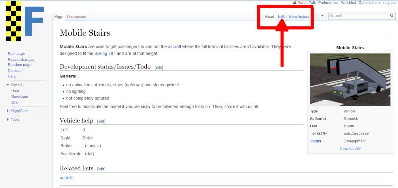 Wiki Flightgear : Traduction d'une page de Wiki Captur10