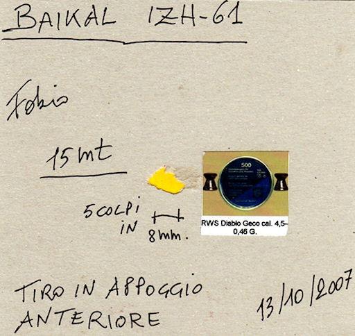 Carabine à air BAIKAL IJ61 - Page 2 Baikal10