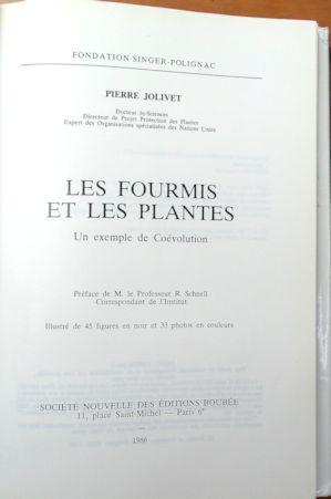 Les Fourmis et les Plantes - Boubée - 1986 Boubye11