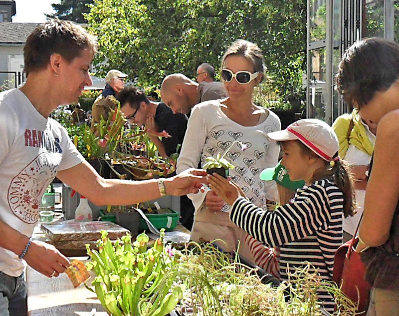 Bourse aux plantes carnivores et atypique 2014- Jardin botanique de Fribourg - Page 2 Fribou23