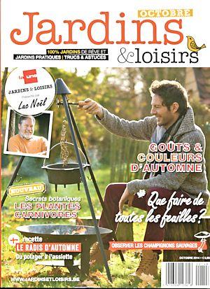 Jardins & loisirs octobre 2014 - Revue mensuelle belge Jardin10