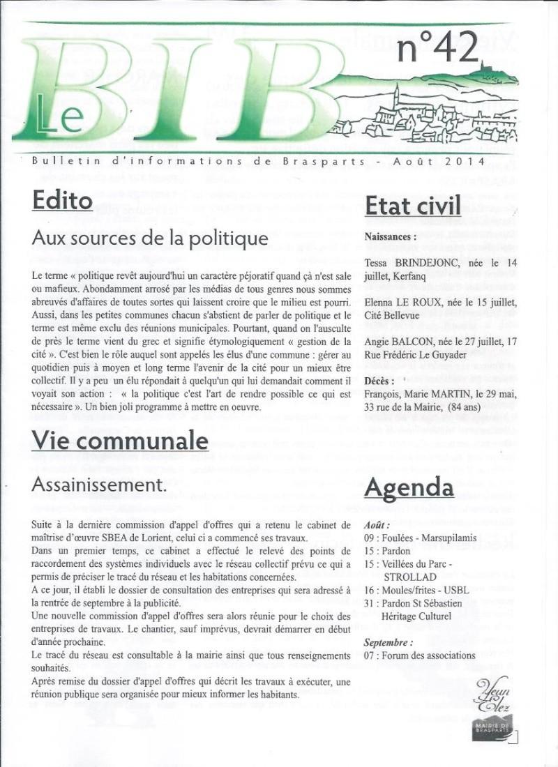 Bulletin d'information de Brasparts n°42 110