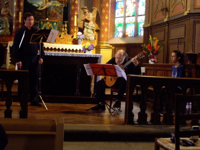 """Concert """"chant et guitare"""" à l'église de Brasparts le 24 août 2014 Imgp6511"""