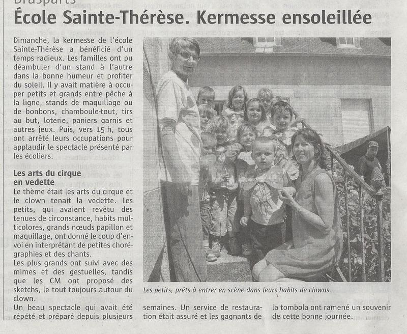 La kermesse de l'école Sainte Thérèse Kermes10