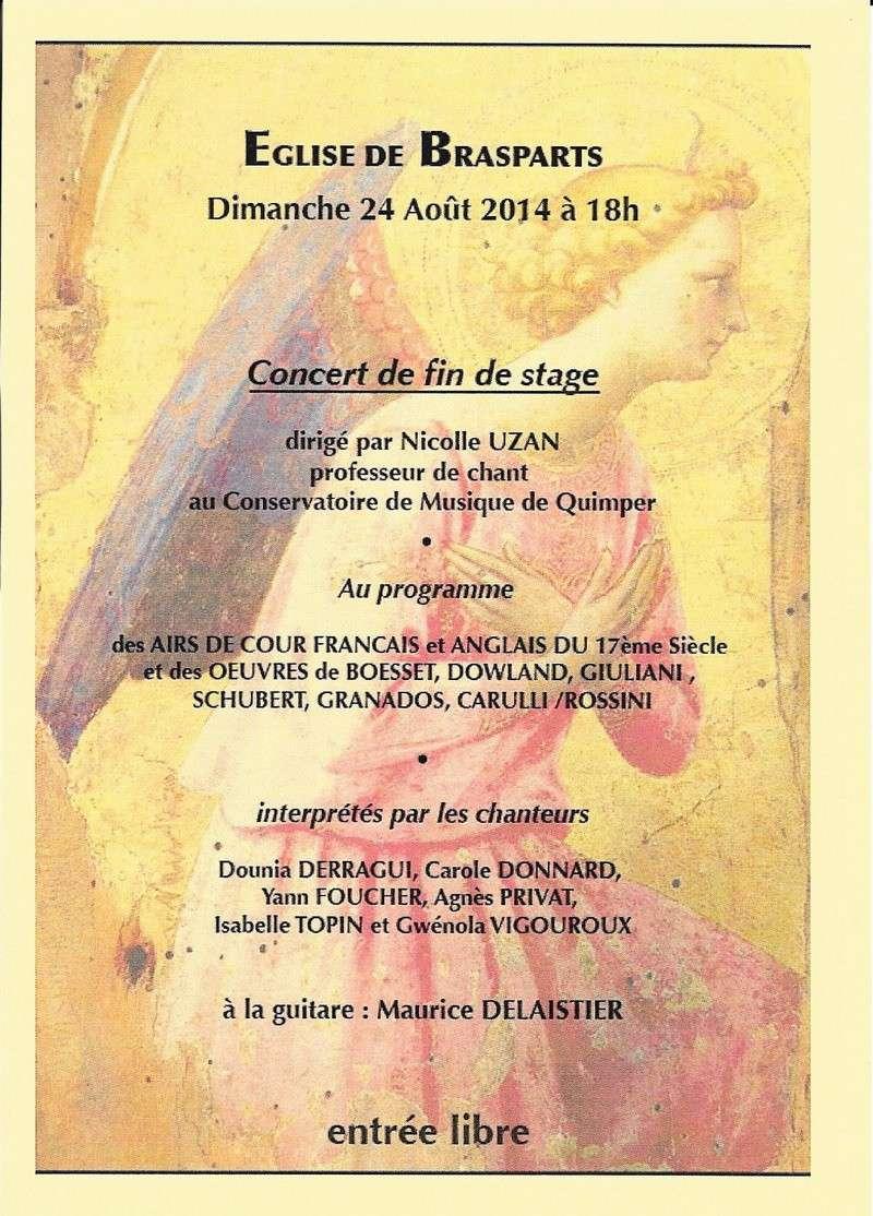 """Concert """"chant et guitare"""" à l'église de Brasparts le 24 août 2014 Stage_10"""