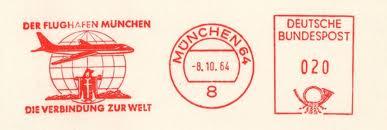 Freistempel mit Flugzeug-Motiven 01115