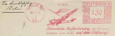 Freistempel mit Flugzeug-Motiven 01117