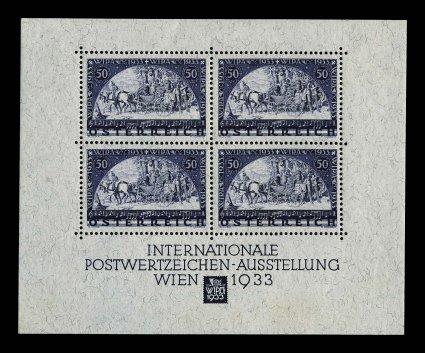 Blockausgaben Österreich 01128
