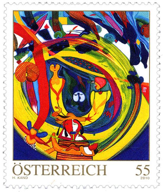 Österreich - Ausgabeprogramm 2010 01194
