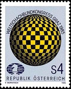 Schach - das königliche Spiel / Briefmarken 01283