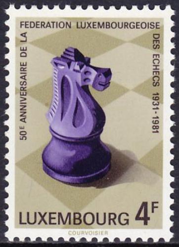 Schach - das königliche Spiel / Briefmarken 01288