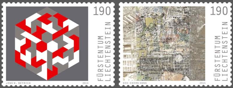 Liechtenstein - AUSGABEN 2014 Liechtenstein 01303