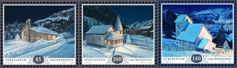 Liechtenstein - AUSGABEN 2014 Liechtenstein 01305