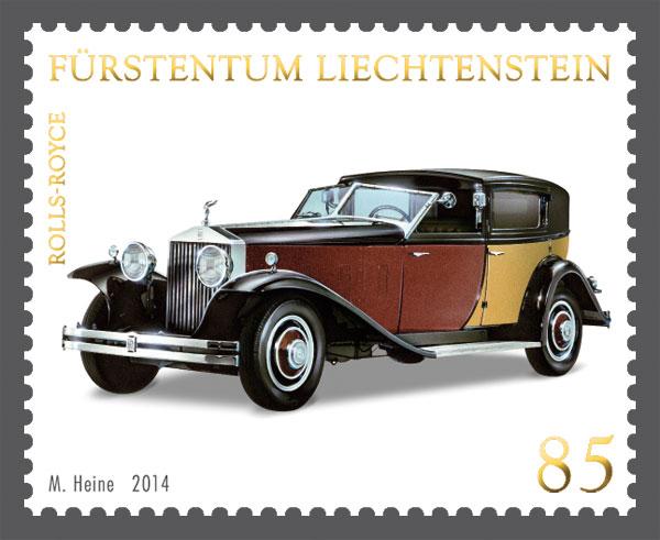 Liechtenstein - AUSGABEN 2014 Liechtenstein 01307