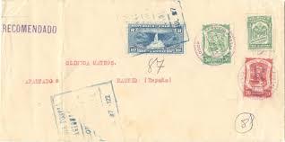 SCADTA, die provisorischen Einschreibmarken der Ausgabe 1921 & 1923 01312