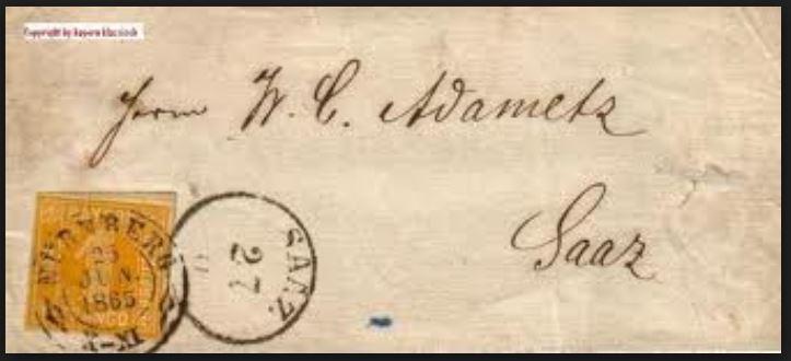 literatur - Postverhältnisse Bayern - Österreich 01318