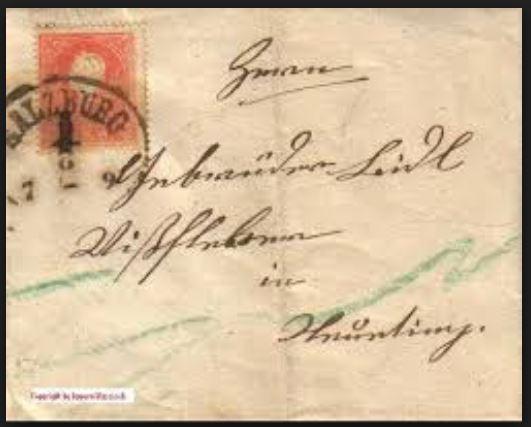 literatur - Postverhältnisse Bayern - Österreich 01319