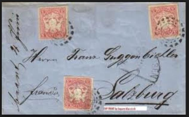 literatur - Postverhältnisse Bayern - Österreich 01320