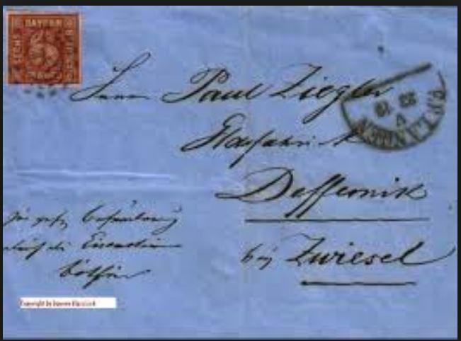 literatur - Postverhältnisse Bayern - Österreich - Seite 3 01325