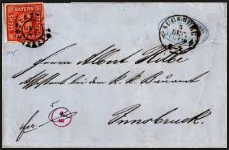 Postverhältnisse Bayern - Österreich - Seite 4 01327