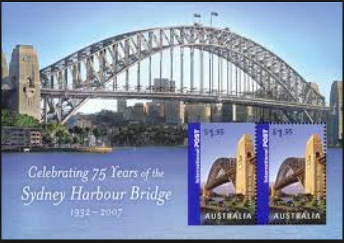 Brücken auf Briefmarken 0166