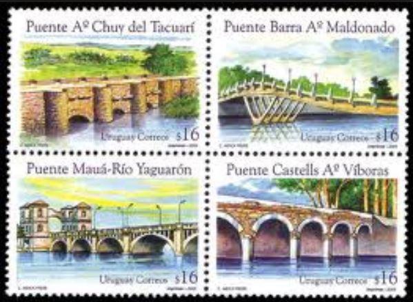 Brücken auf Briefmarken 0169