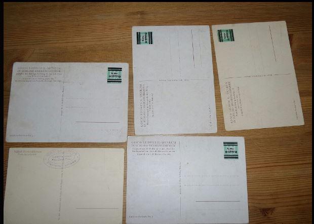 Schätzung dieser Postkarten/Briefmarken 0234