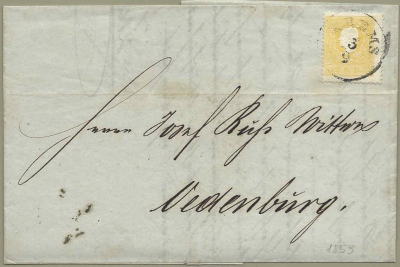 Die Freimarkenausgabe 1858 Type I und II - Seite 3 1859_110