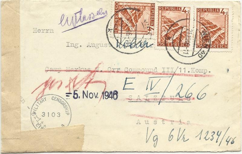 Landschaftsbilder ANK 738-766  -  Belege - Seite 6 19461010