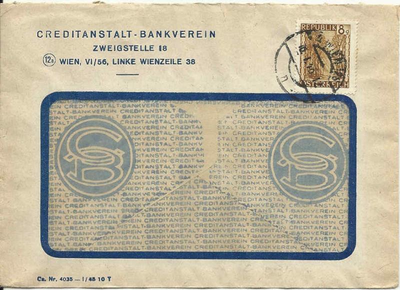Briefe / Poststücke österreichischer Banken - Seite 2 Ca_19411
