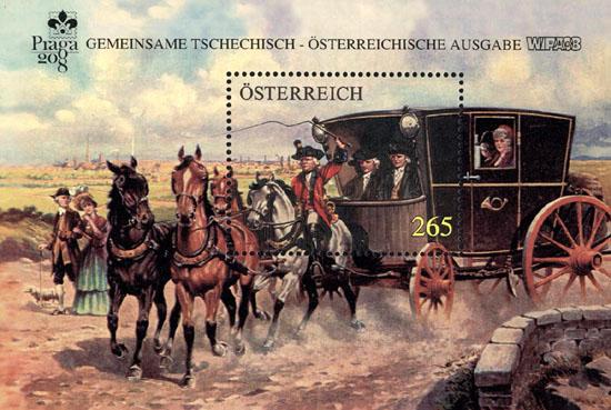 Karten mit bildgleichen Briefmarkenausgaben Kutsch11